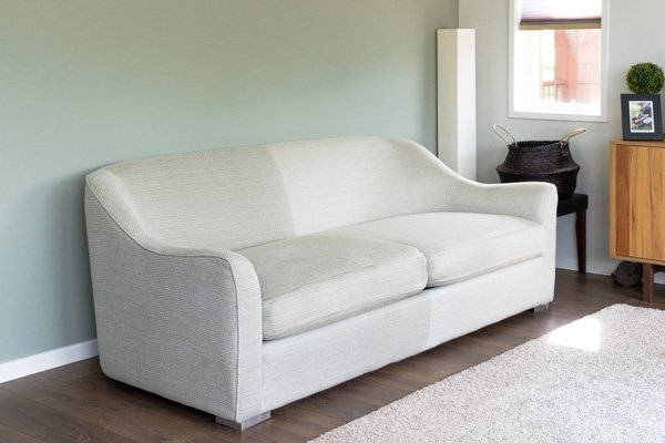 Upholstery Cleaning before after